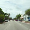 Driving through Surfside Miami Beach