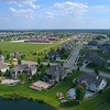 Residential rural neighborhood Bettendorf Iowa 4k 60p