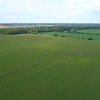 Aerial drone shot of Indiana USA farms 4k 60p