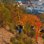 Tennessee Gatlinburg Skylift 4k video