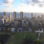 Aerial motion video Hawaii Waikiki