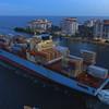 Maersk Line departing Port Miami