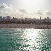 Amazing aerial video Miami Beach facing west 4k 60p