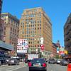 New York street scene Lafayette st.