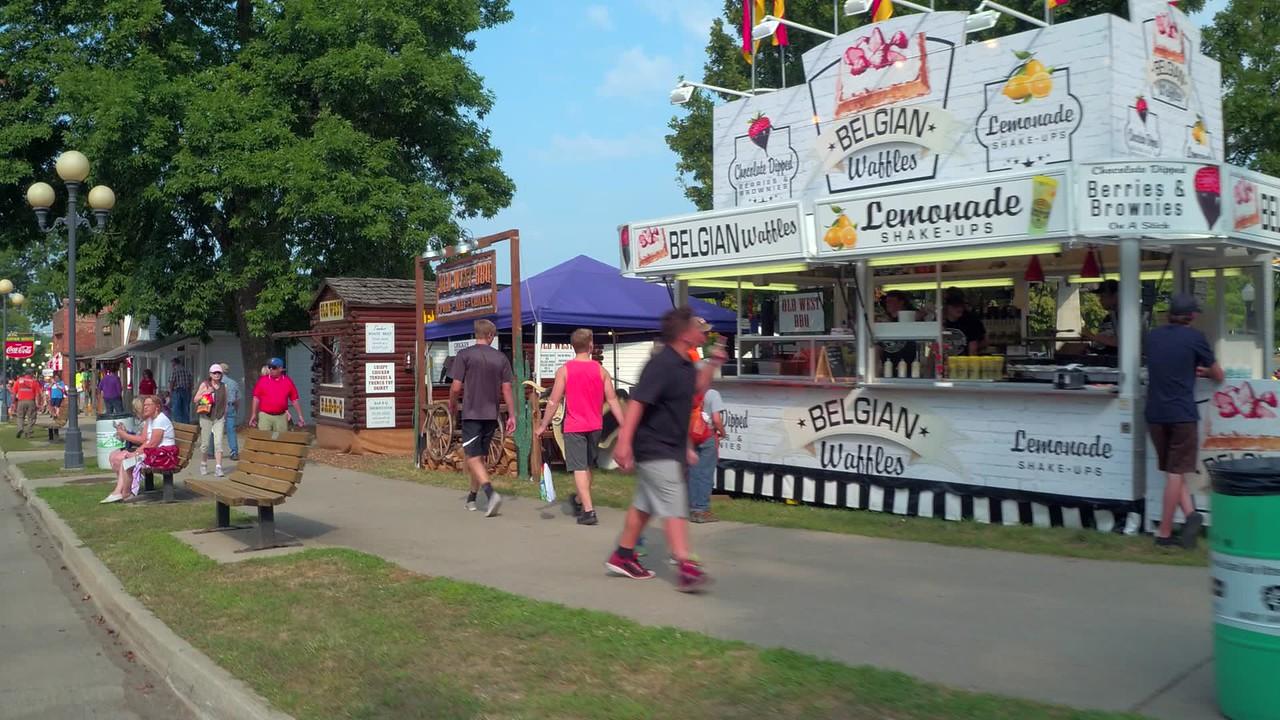 Food at the Iowa State Fair
