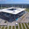 Aerial tour Hardrock Stadium Miami FL