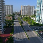 Drone aerial Hallandale Beach FL