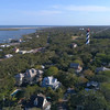 Aerial video St Augustine Lighthouse and Museum