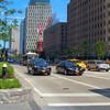 New York scene at West Street and Funston Street