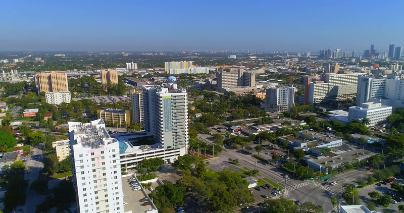 Miami Civic Center 4k 60p