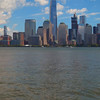 View of Lower Manhattan fron New Jersey