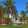 Travel scene in Miami Beach