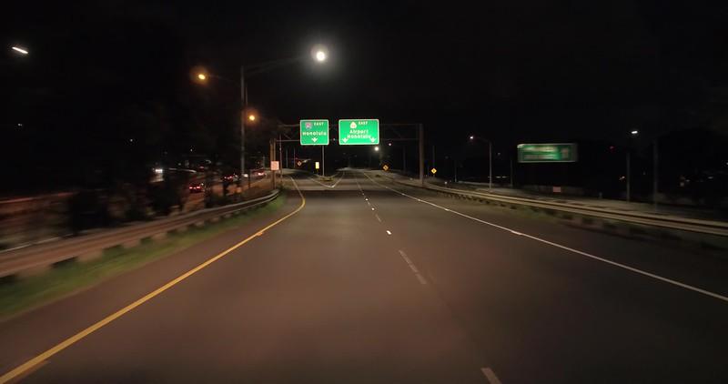 Highway h1 to Honolulu International Airport