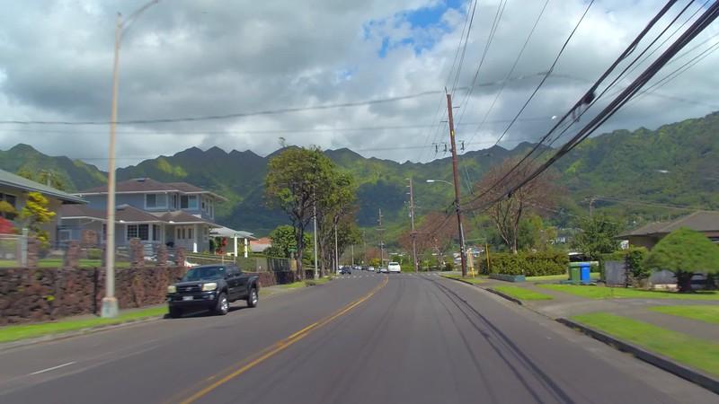 Hyperlapse Residential homes in Honolulu Hawaii