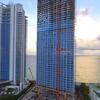 Aerial footage Jade Signature Sunny Isles Beach
