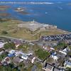 Aerial fort Castillo De San Marcos 4k 60p