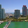 Aerial video of the Apogee Condominium Miami Beach 4k 60p