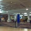 POV video walking through a mall