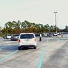 Organized parking lot