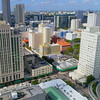 Rising above Downtown Miami 4k
