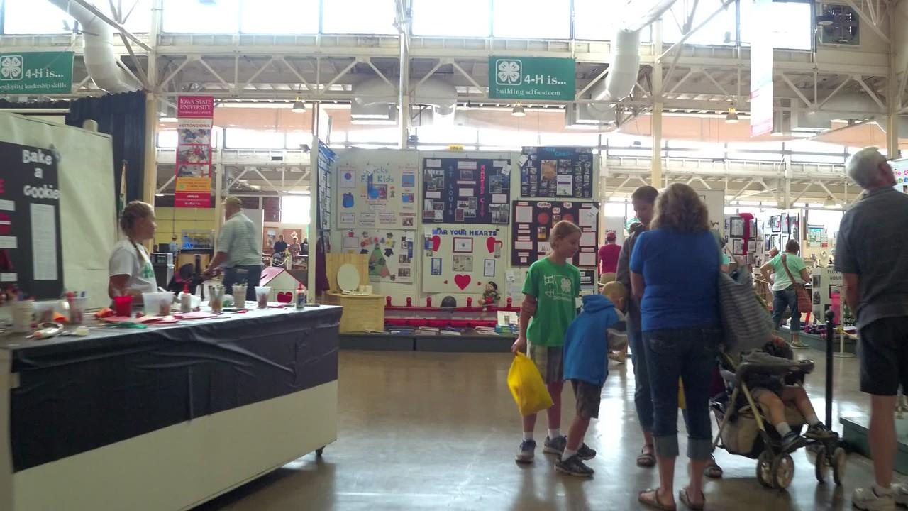 Iowa State Fair trinkets and antiques
