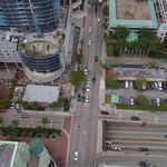 Intersection at north Federal Highway and Las Olas Boulevard