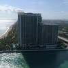 Aerial footage Bal Harbour jetty