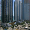 Aerial video Beachfront condos in Sunny Isles