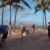 Waikiki Wall stock video