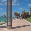 Travel video of south Pointe Park Miami Beach Florida