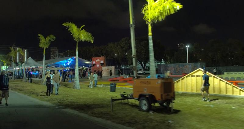 Urban youth clubbin at Wynwood Miami