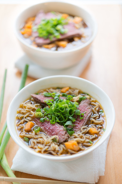 Beef noodle meal