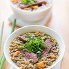 Beef noodle meal