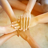 Success Partnership Business Partners Team meeting Successful Teamwork Hands Gesture. Hands stack group of people. Partnership Business Concept.Close-Up hands, Teamwork.selective focus.