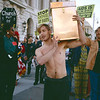 Time Capsule Burial and protest against censorship in the arts, 1990_09_07