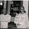 Protest against violence against people who are transgender in front of the Castro Theatre during the theatrical release of The brandon Teena Story, February 20, 1999