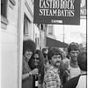 Castro Street Fair, Pepe Olvidez and friend, 1977_08_14