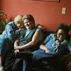 Mary Mc Chrohan, Linda Sichel and Crystal Jang at Peg's Place Bar, Sept. 17, 1987