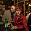 Mr. David and Gina laDavina at Enrico's, San Francisco December 2008