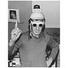 Harvey Milk clowning around at Castro Camera - Dec. 1977