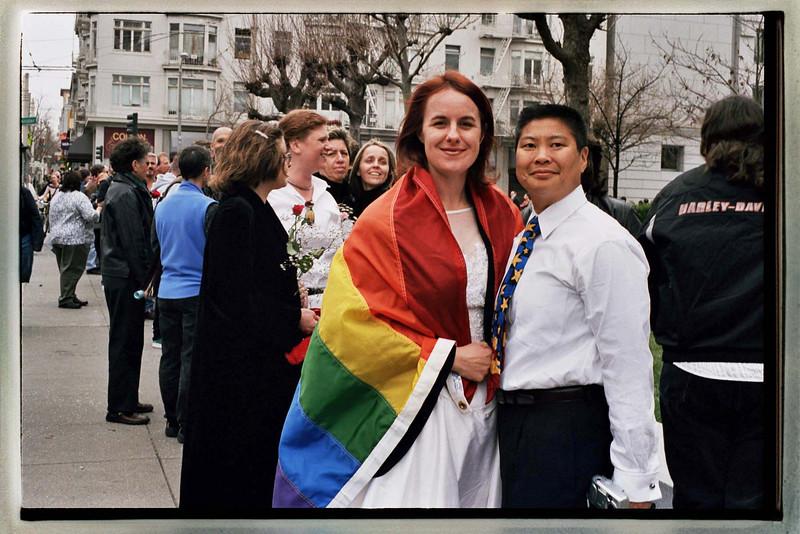 Cynthia & Michie Rickert Wong<br /> February 14, 2004