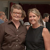 Sandy Stier and Kristin Perry, at honoring event by Senator Leno's office, 2013_09_07