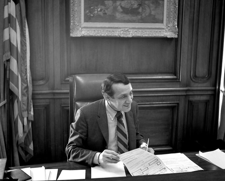 Superivosr Harvey Milk as Deputy Mayor of San francisco, March 7, 1978