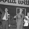 Supervisor Harvey Milk, Mayor George Moscone and Supervisor Carol Ruth Silver at The Empress Coronation<br /> January 28, 1978
