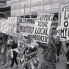 Demonstration on women's AIDS issues at the Sixth International AIDS Conference in SF,  June 22, 1990