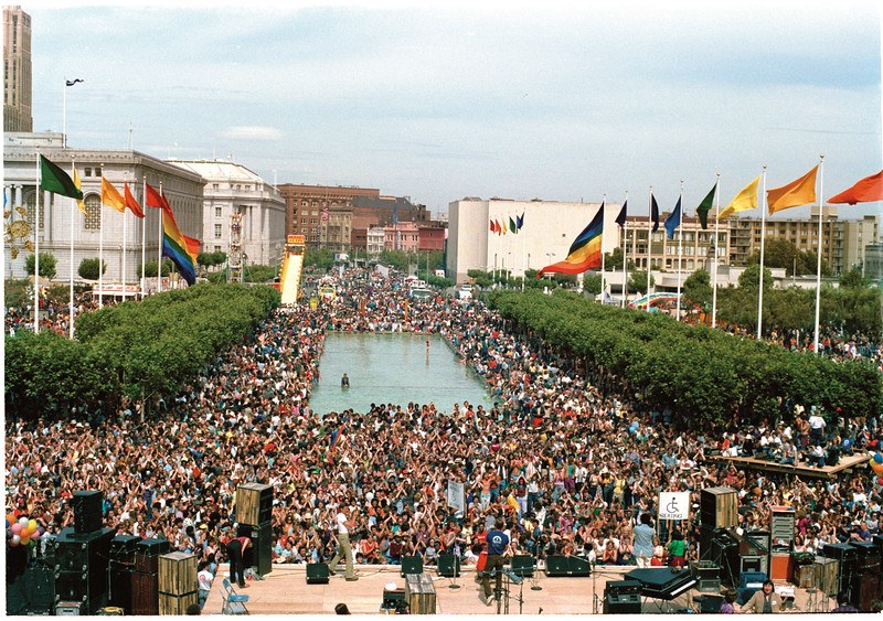 San Francisco LGBT Pride Celebration 1980