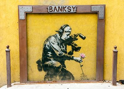 Banksy park lake city