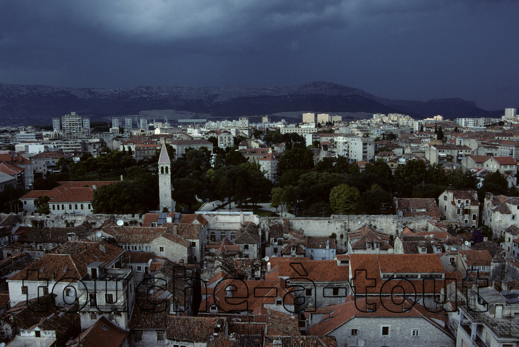 The calm before the storm, Split, Croatia