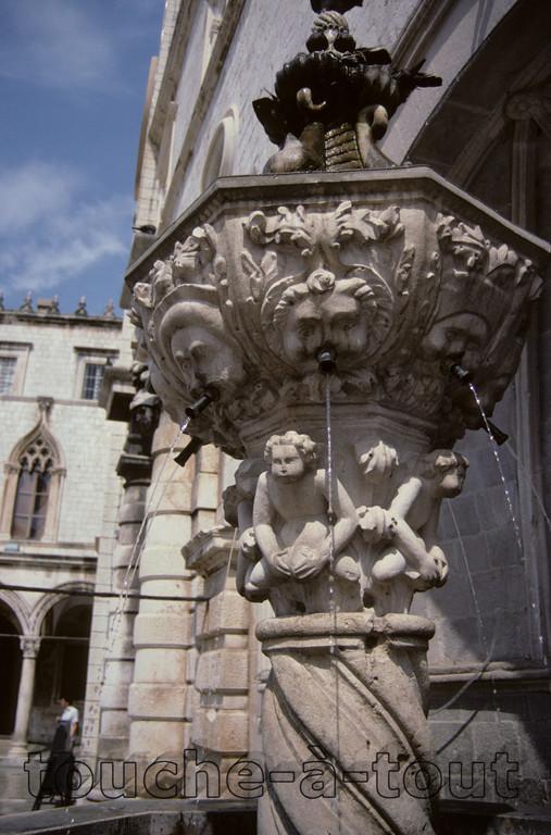 Drinking fountain, Dubrovnik, Croatia