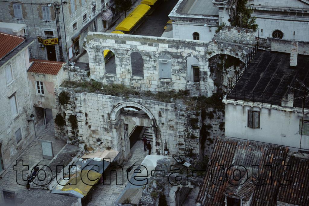 The ruins of Split, Croatia